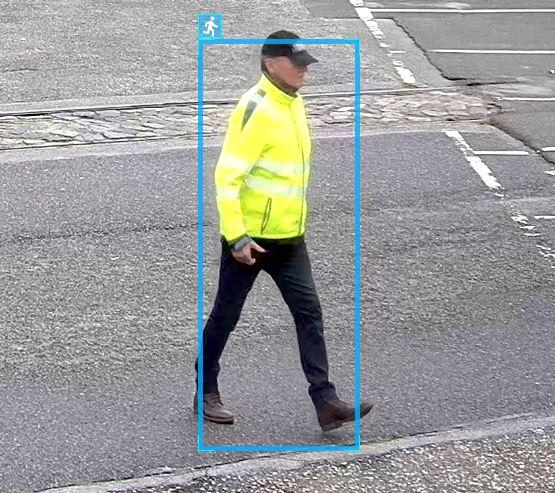 Personen Bewegungserkennung Videoüberwachung