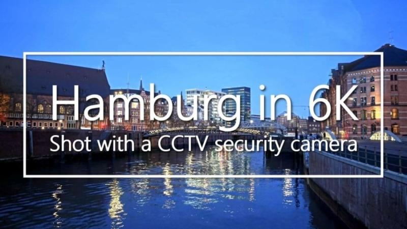 Das Bild zeigt eine Vorschau zum Video Hamburg in 6K