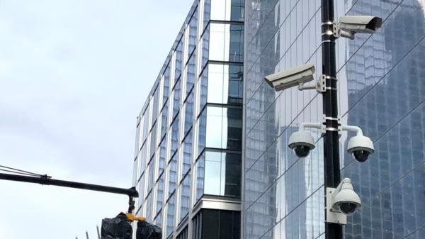 Das Bild zeigt professionelle Videoüberwachung